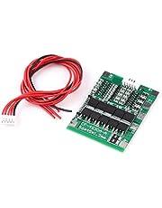 PCB-Beschermingspaneel Voor 4 Stuks 14.8V 30A Lithium-Ion 18650-Batterijen BMS-Kaart Met Overstroombeveiligingskabel Overstroom Kortsluiting