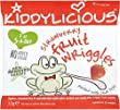 Kiddylicious Strawberry Fruit Wriggles 12mth+ (12g) - Pack of 6