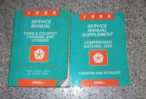 - 1995 Chrysler Town & Country MINI VAN Shop Service Repair Manual Set OEM FACTORY