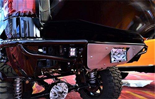 - N-Fab T07RBS Gloss Black RBS Rear Bumper : PreRunner Style Black-T07RBS