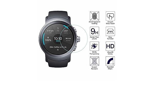 YANSHG® Para LG Watch Sport Reloj El Protector de Cristal ...