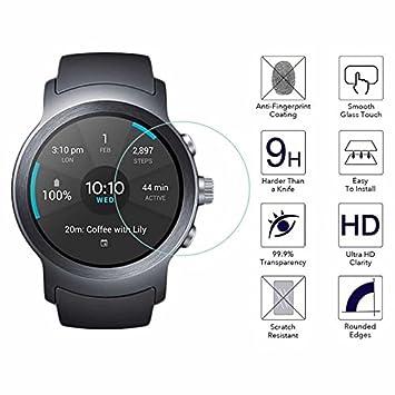 YANSHG® Para LG Watch Sport Reloj El Protector de Cristal Templado ...
