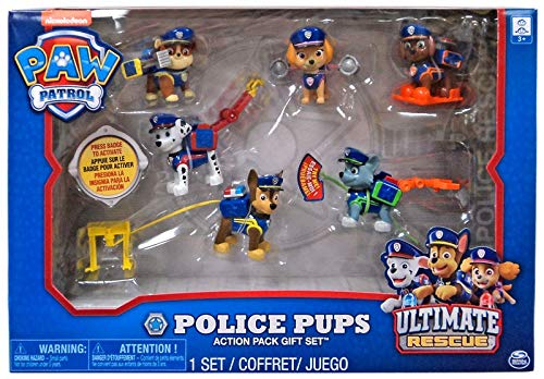 (PAW Patrol Police Pups Action Pack Gift Set)