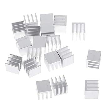 perfk 20Pcs Aleación De Aluminio VGA RAM Juego De ...