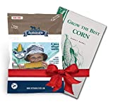 Sweetest Corn Seed Collection, 4 Variety Pack of Non-GMO Sweet Corn Seeds, Bodacious, Early Xtra Sweet, Peaches & Cream and Kandy Corn by Sustainable Seed