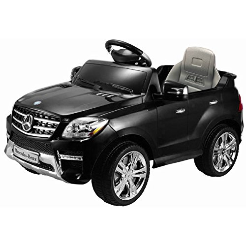Costzon Mercedes Benz ML350 6V Ride On Car Electric Kids Car with Parental Remote Control, LED Headlights, Horn, (Sit In Remote Control Car)