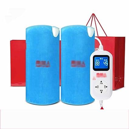 GYH HuXiDian LJHA Rodilleras Rodilleras eléctricas para calefacción Rodilleras Calientes para Hombres y Mujeres Rodilleras Calientes