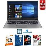 LG Gram 15.6'' FHD Ultra-light Notebook Intel i5-7200U, 8GB RAM, 256GB SSD (15Z970-U.AAS5U1) with Software + Extended Warranty Bundle