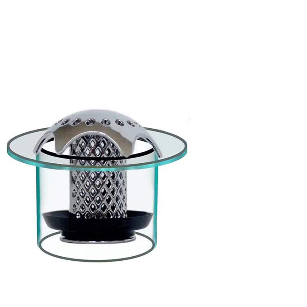 - /Évitez Les drains de Baignoire obstru/és avec Le Design innovant DrainSavR Noir Baignoire Ogquaton Drain Hair Catcher pour Douche