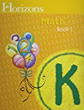 Horizons Math K SET of 2 Student Workbooks K-1 and K-2