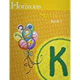 Horizons Math K SET of 2 Student Workbooks K-1 and K-2