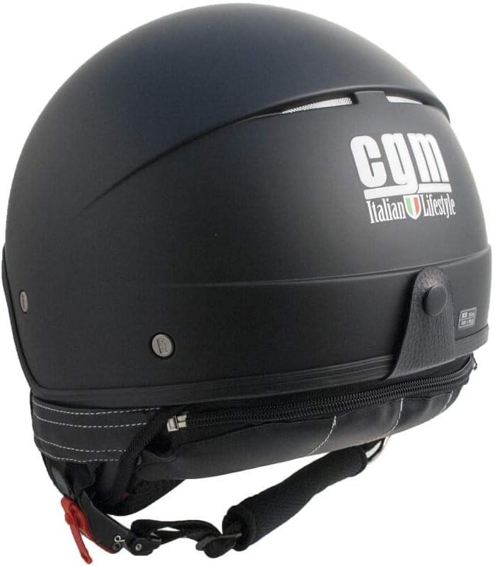 S Helm JET CGM 104A-FAA-01 Schwarz Gummi MALINDI