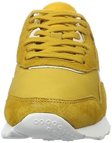 Reebok Femme Hv Cl Kindness Eccentric Sneakers Slim Nylon Jaune w6qFHfT