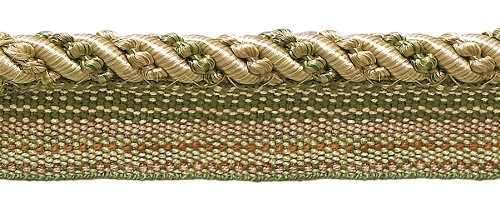 (DecoPro 10 Yard Value Pack of Medium Olive Green, Champagne 4/16