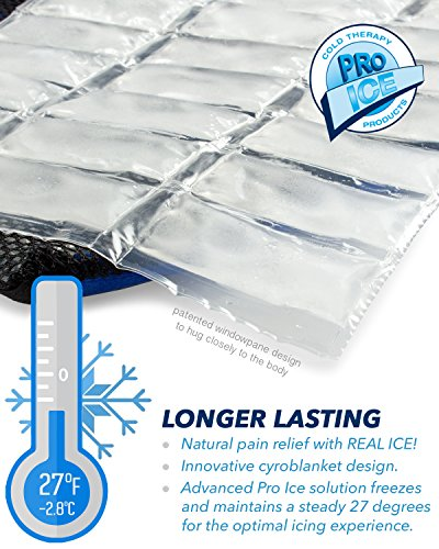 Ankle/Foot Ice Therapy Wrap – Perfect for Sprained Ankles, Plantar Fasciitis, Achilles tendonitis, and Swelling Feet - Ice Packs Included by PRO ICE COLD THERAPY PRODUCTS (Image #5)