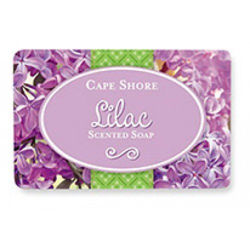 Cape Shore Lilac Scented Bar Hand/Body Soap, Pack of 3 Bars, 3oz Each. (Scented Soap Bath)