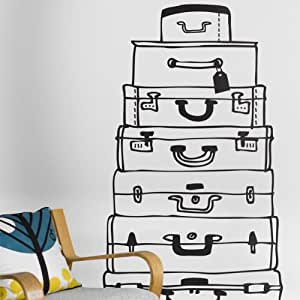 Suitcases Wall Sticker by Ferm Living