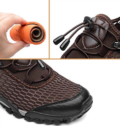 Mohem Titans Casual Chaussures De Randonnée En Plein Air Chaussures De Randonnée Pour Les Hommes Black820