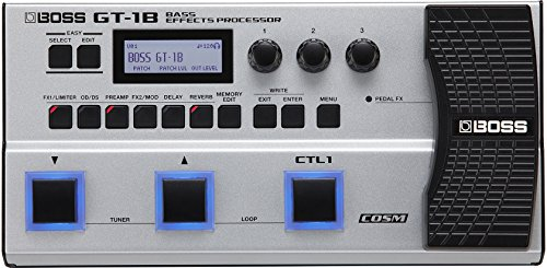 - Boss GT-1B Bass Multi-effects Processor