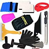 pro window tint tool kit - CARLAS Combo Pro Tool Kits Car Vinyl Wrap Squeegee Tools for Car Wrap Vinyl Sitkcer Installation