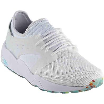0a489f16cdbcd Amazon.com | PUMA Mens Blaze Cage Kiku FM Athletic & Sneakers White ...