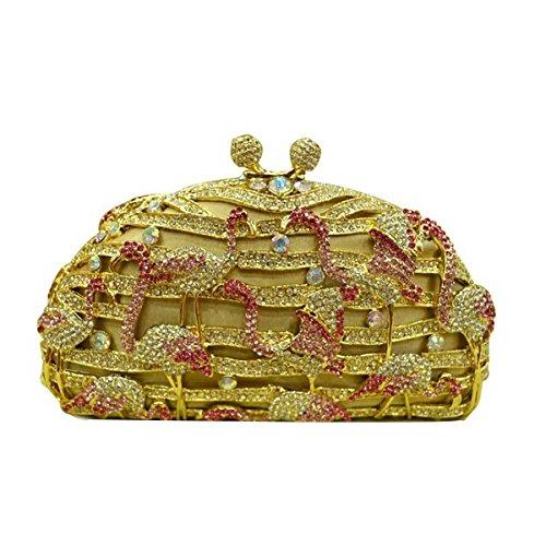 Soirée Gold Sac Pour De De Diamant Gamme Haut Femme 1WOfqRwWn