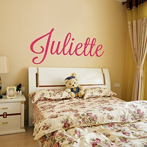 Custom Name Vinyl Wall Decal Sticker Art for Girls (Personalized Wall Art For Kids compare prices)
