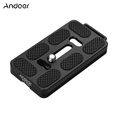 Andoer PU-70H 70mm Quick Release QR Plate with Attachment Lo