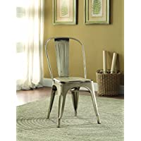 Coaster 105615 Home Furnishings Metal Chair (Set of 4), White