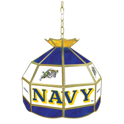 NCAA United States Naval Academy Tiffany Gameroom Lamp, 16
