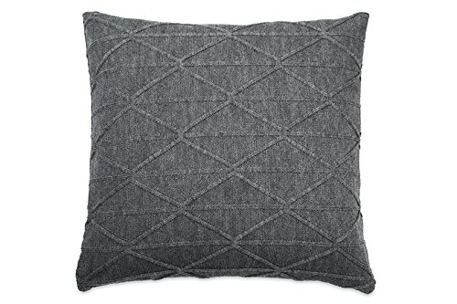 DKNY City Pleat Diamond Knit Decorative Pillow