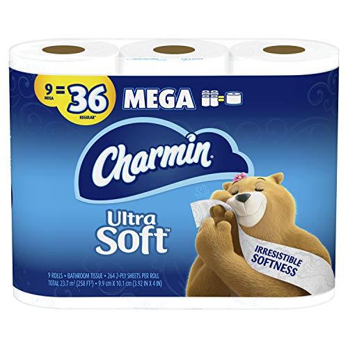 🥇 Charmin Ultra Soft Toilet Paper