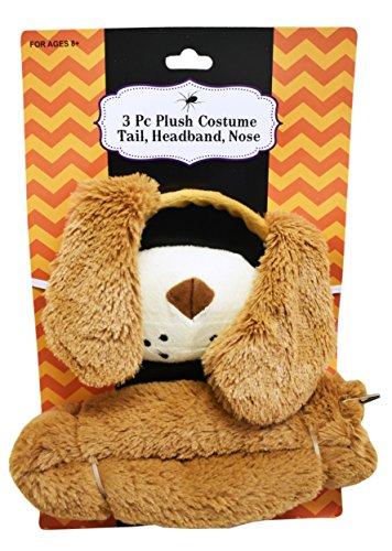 Set of Adorable Puppy Dog Plush Costume! 3 Piece - 2 Piece - Unicorn, Dinosaur, Giraffe, and Puppy Dog! Adorable for Children or Adults! (1, (Alaska Costume)