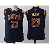 Youth Cleveland Cavaliers Lebron James #23 Basketball Jersey