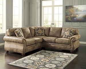 Amazon Com Ashley 31901 55 67 Larkinhurst Sectional Sofa