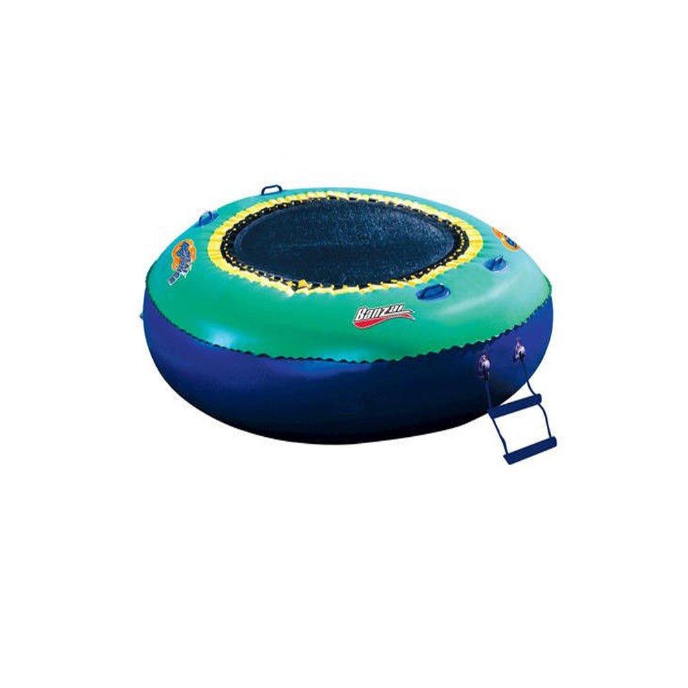 Amazon.com: Banzai Bounce Trampolín portátil, nuevo. Lago de ...