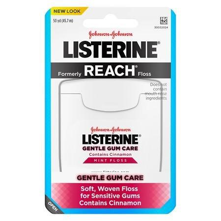 LISTERINE Gentle Gum Care, Woven Floss Mint (Woven Mint)