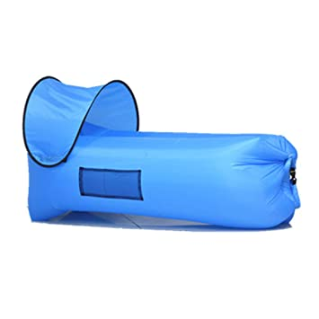 Mexhh Lazy Air Sofá Inflable Sofá Plegable Ultraligero Acampar al ...
