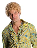 Rubie's Costume Co Tight Fro Wig, Blonde, One Size