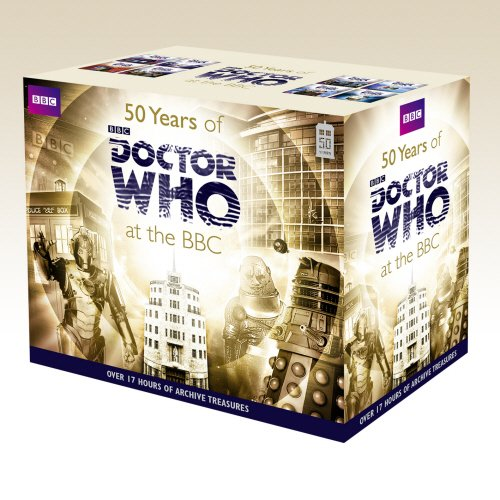 50 Years of Doctor Who at the BBC Box Set by BBC Books