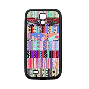 Custom Aztec Tribal Back Cover Case for SamSung Galaxy S4 I9500 JNS4-296