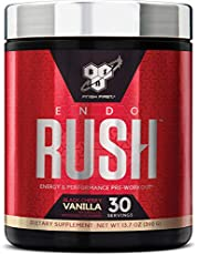 BSN Endorush Pre Workout Powder, Island Cooler Flavor Energy Supplement for Men and Women