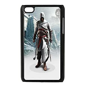 Assassins-Creed-Black-Flag iPod Touch 4 Case Black as a gift W4513659