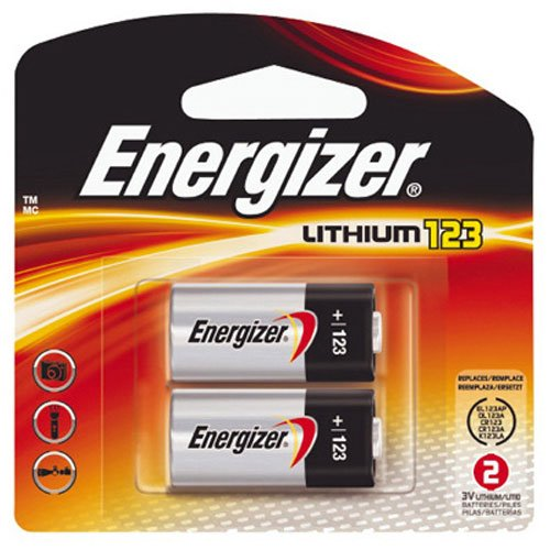 Energizer EL123APB2 Standard Camera Battery