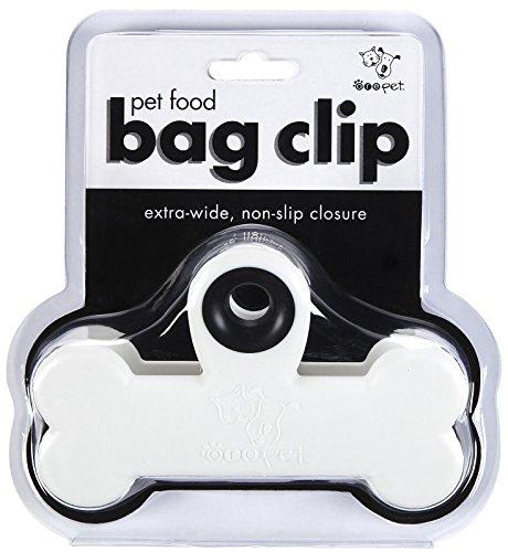 - ORE Pet Food Bag Clip - White & Black