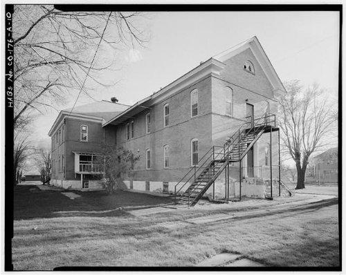 HistoricalFindings Photo: Southern Ute Boarding School,Boy's Dormitory,Ignacio,La Plata County,CO,HABS,17