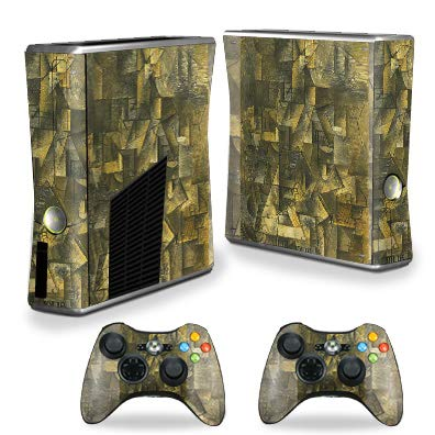 MightySkins Skin for Xbox 360 S Console - Ma Jolie | Protective, Durable, and Unique Vinyl Decal wrap Cover | Easy to Apply, Remove, and Change Styles | Made in The USA