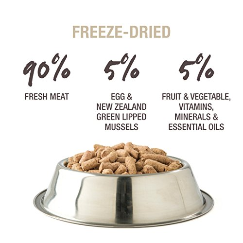 Picture of Freeze Dried Dog Food Or Topper By K9 Natural - Perfect Grain Free, Healthy, Hypoallergenic Limited Ingredients Booster For All Dog Types - Raw, Freeze Dried Mixer - Chicken 17.6Oz Pack