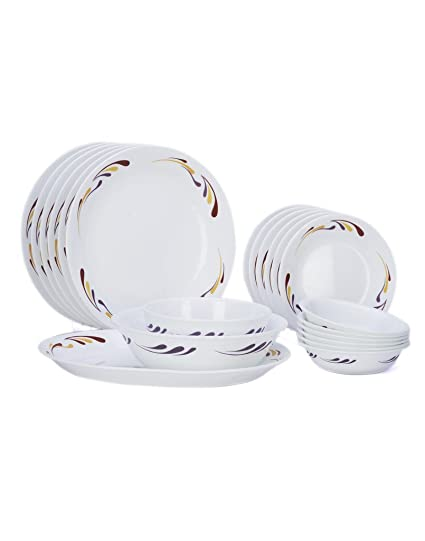 Corelle India Impressions Celebration Dinner Set21 Pcs  sc 1 st  Amazon.in : corelle dinnerware india - Pezcame.Com