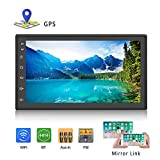 Podofo Double Din Car Stereo Android Car Radio Bluetooth 7 inches Touch Screen